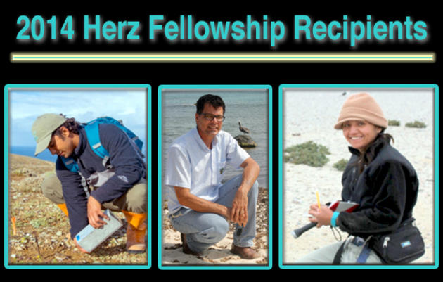 2014 Josephine Daneman Herz International Seabird Fellows