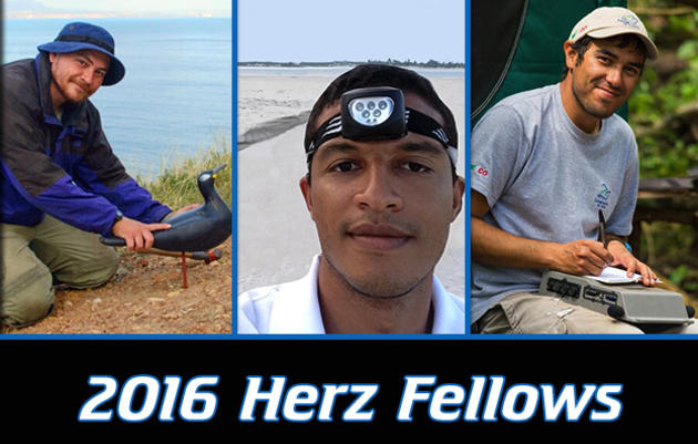 2016 Josephine Daneman Herz International Seabird Fellows