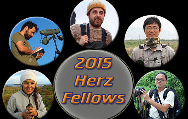 2015 Josephine Daneman Herz International Seabird Fellows