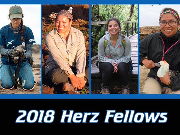 2018 Josephine Daneman Herz International Seabird Fellows