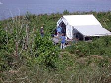Outer Green Island Camp Site