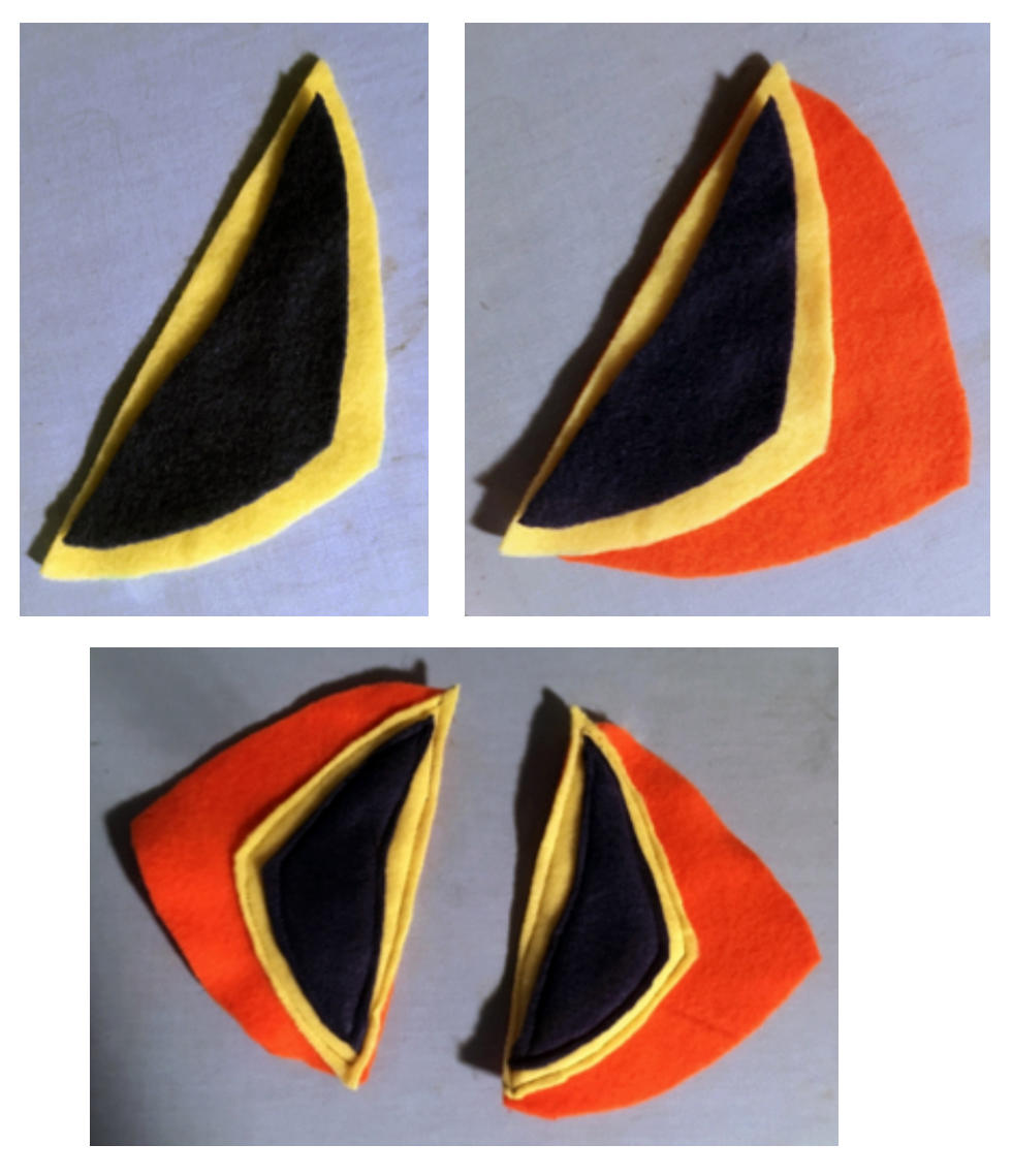 Puffin Mask Directions - Steps 2 and 3