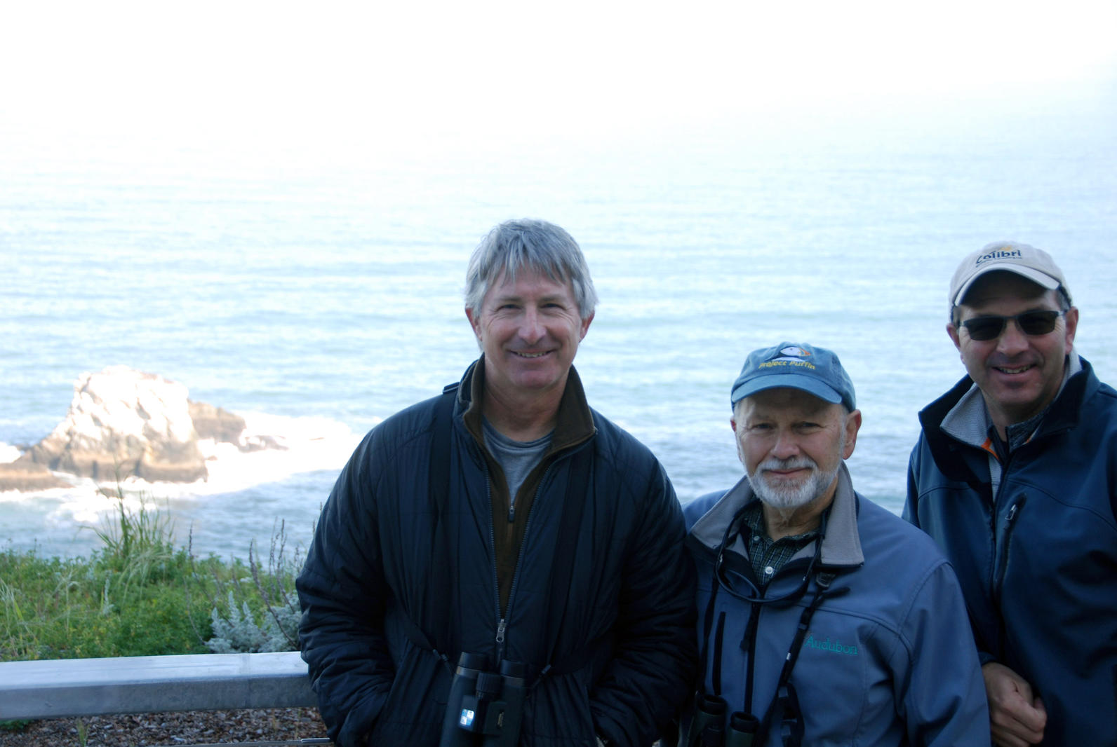 Steve Kress and Devil's Slide Rock Project Leaders Current and Former